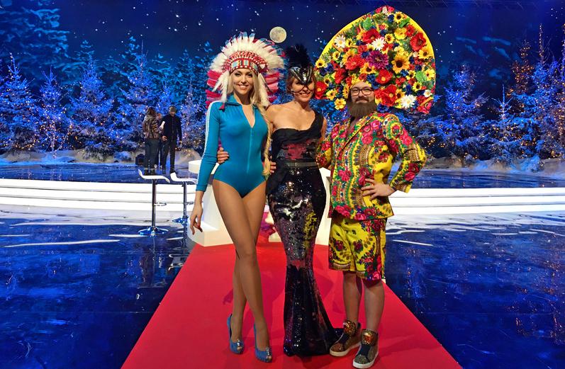 Оля Полякова и Дзидзьо поменялись телами в новогоднюю ночь