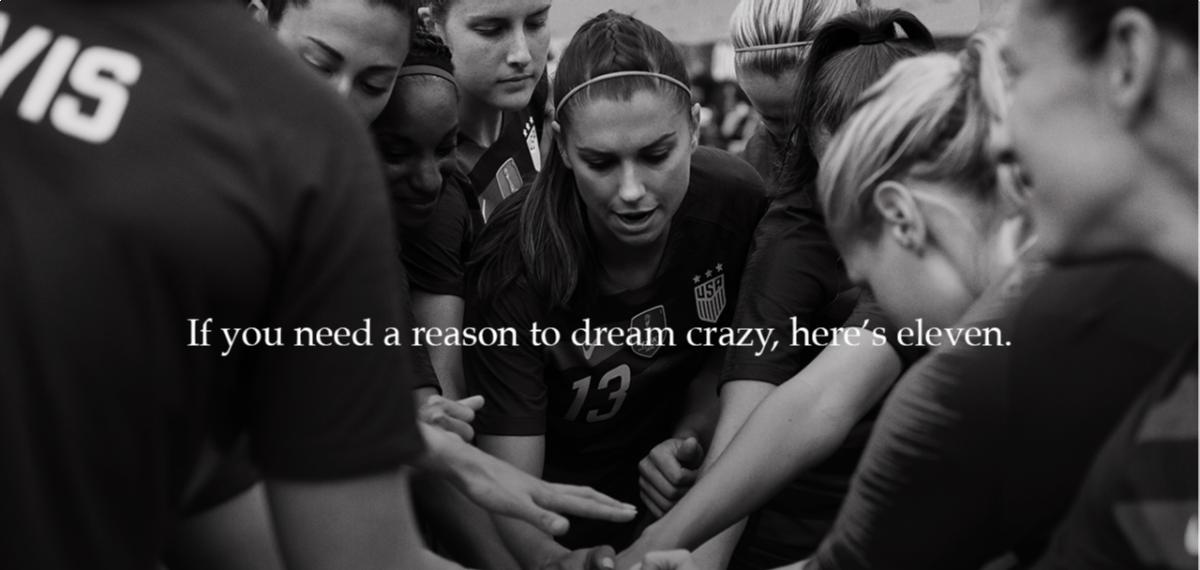«Покажите, на что способны сумасшедшие!»: Nike представили сильное мотивирующее видео про женщин-спортсменок