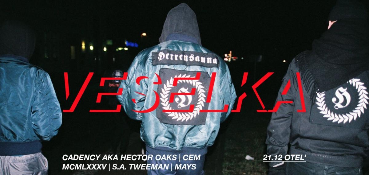 Veselka отпразднует первую годовщину с шоукейсом берлинской Herrensauna в Otel'