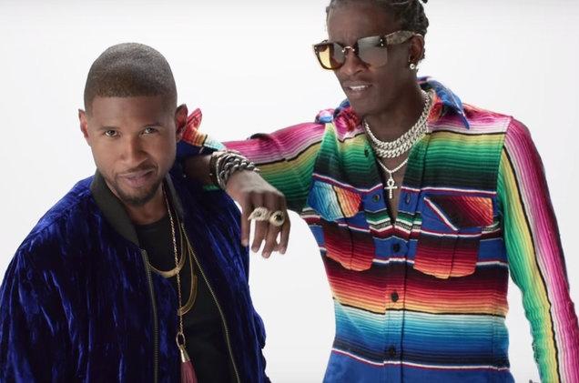 Usher презентовал видео на трек