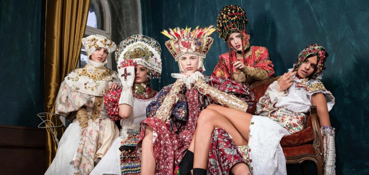 Религия и роскошь в кампейне украинского дизайнера Yan Stepanenko