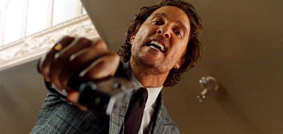 Плохой парень Мэтью МакКонахи торгует наркотиками в новом фильме Гая Ричи «Джентльмены»
