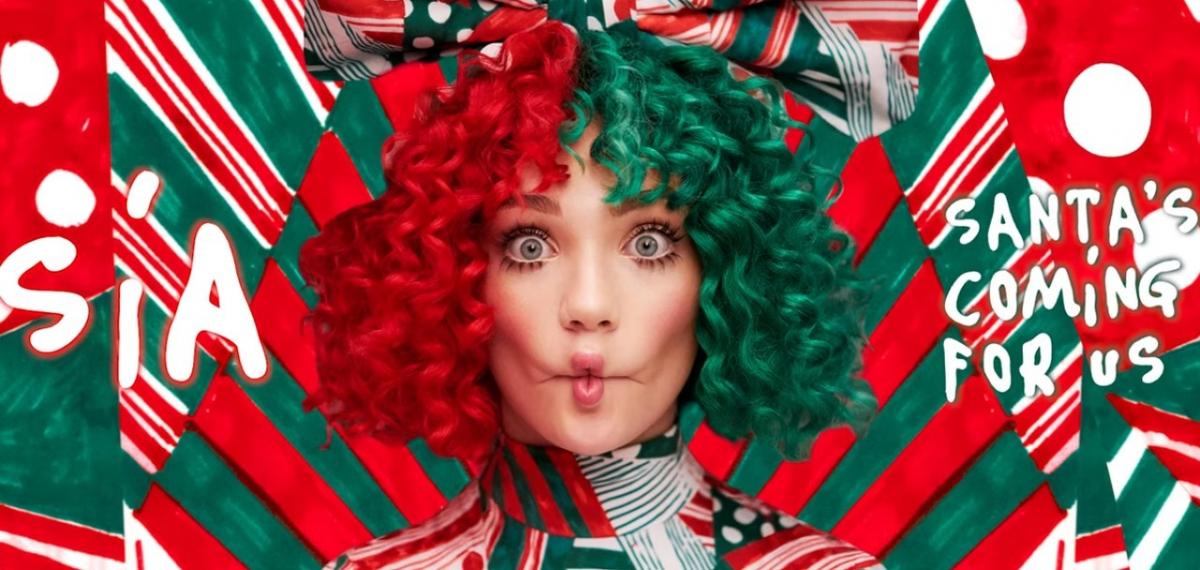 Sia представила первый сингл из рождественского альбома