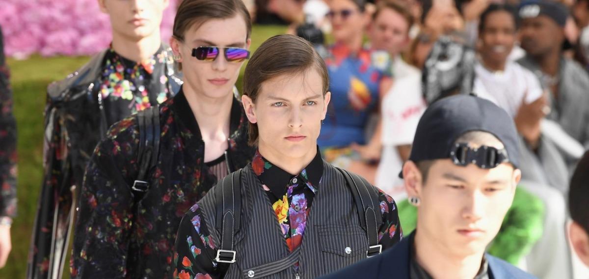 Показ Dior Homme весна-лето 2019