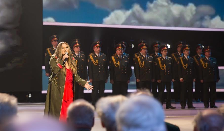 Поклонники Могилевской просят издать альбом военных песен