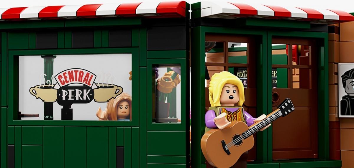 Это так мило! LEGO празднует 25-летний юбилей сериала «Друзья» с набором из 1070 деталей