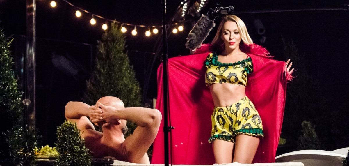 Оля Полякова снялась в первой украинской секс-комедии