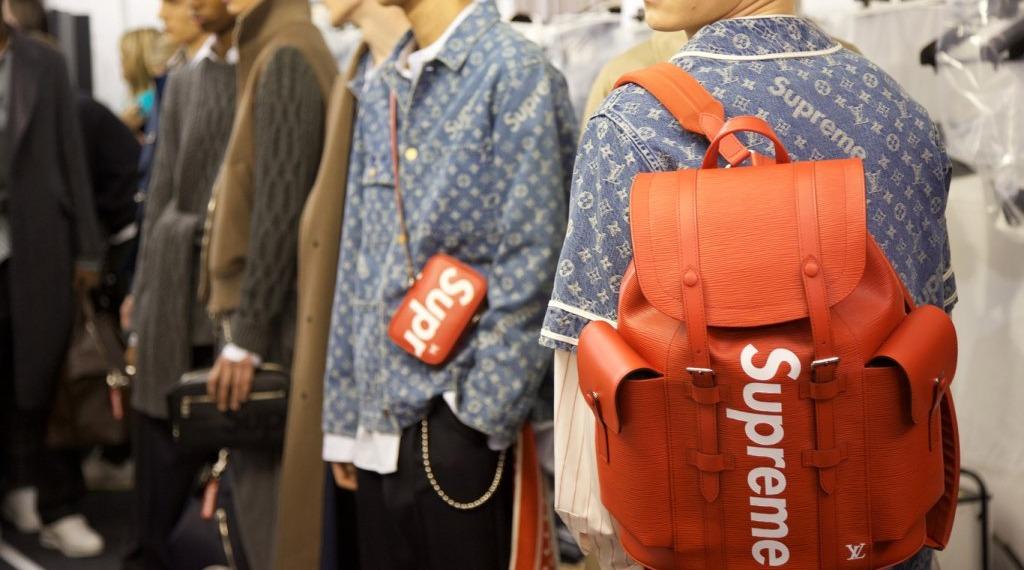 Louis Vuitton презентовали коллаборацию с Supreme