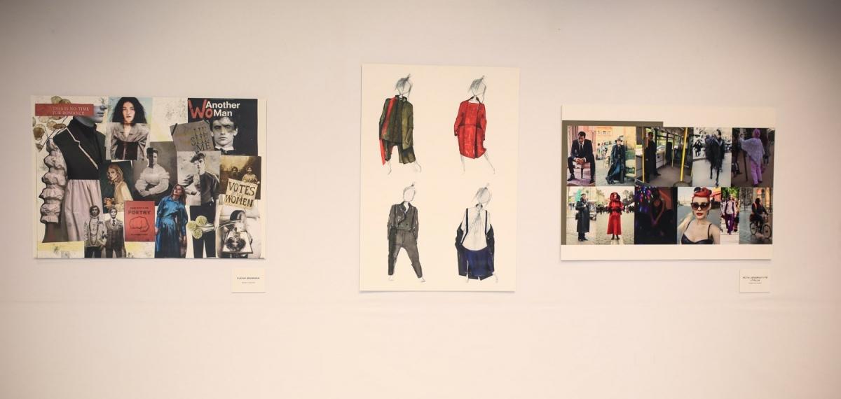 Открытие выставки эскизов участников International Young Designers Contest