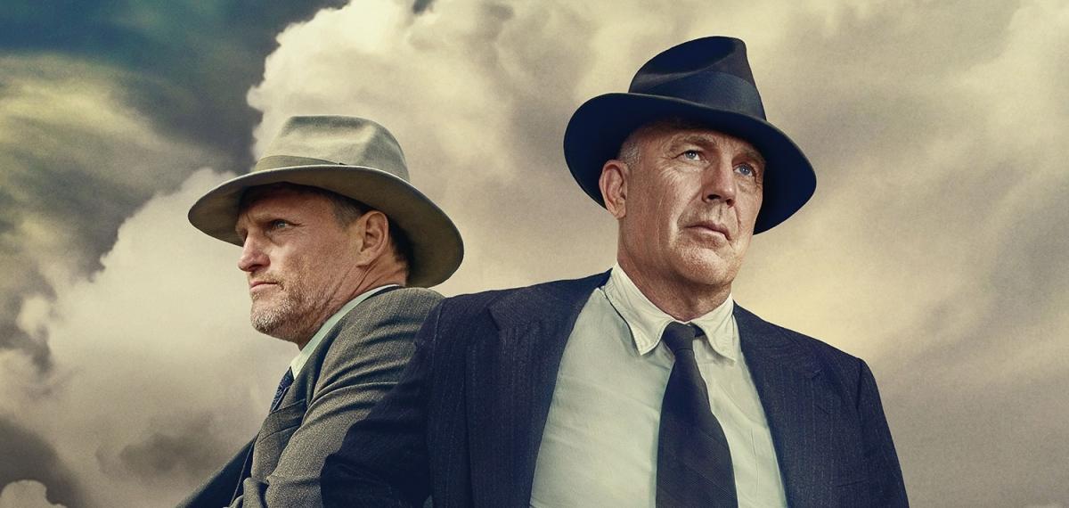 Поймать Бонни и Клайда: Вуди Харрельсон и Кевин Костнер в новом захватывающем детективе