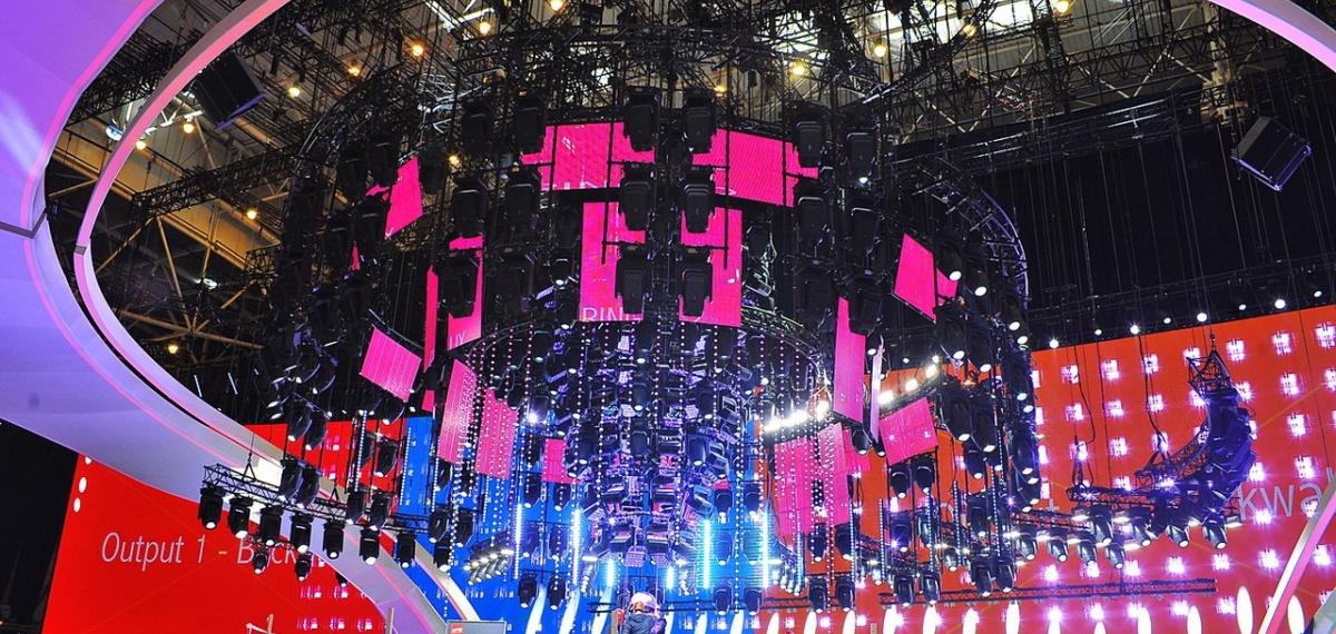 Сцена Евровидения-2017 возведена окончательно