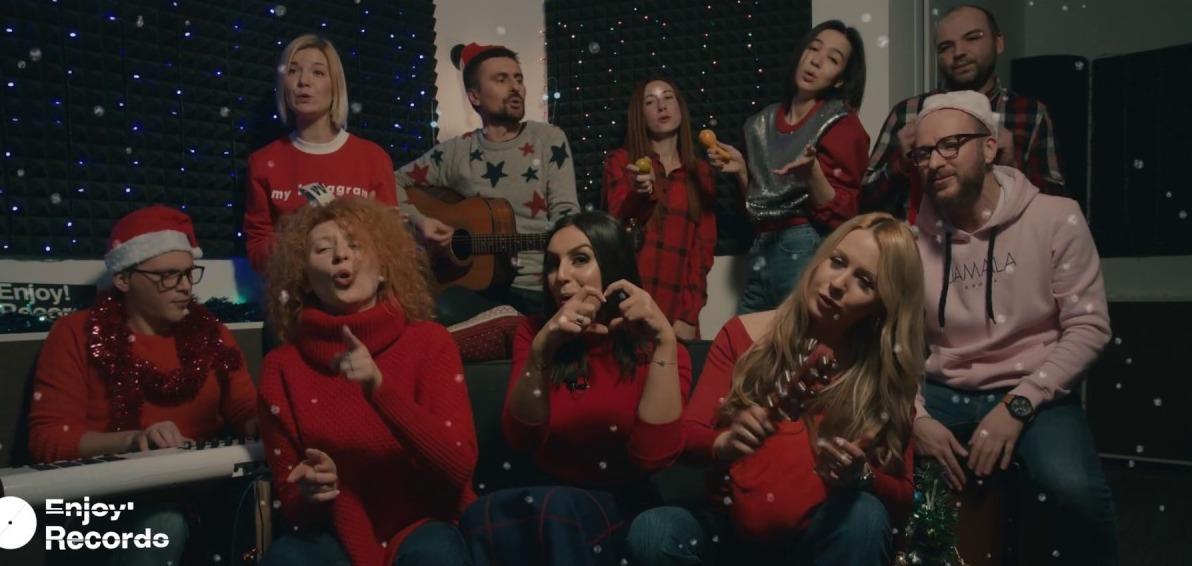 Очень милое рождественское видео от Jamala и Enjoy! Records
