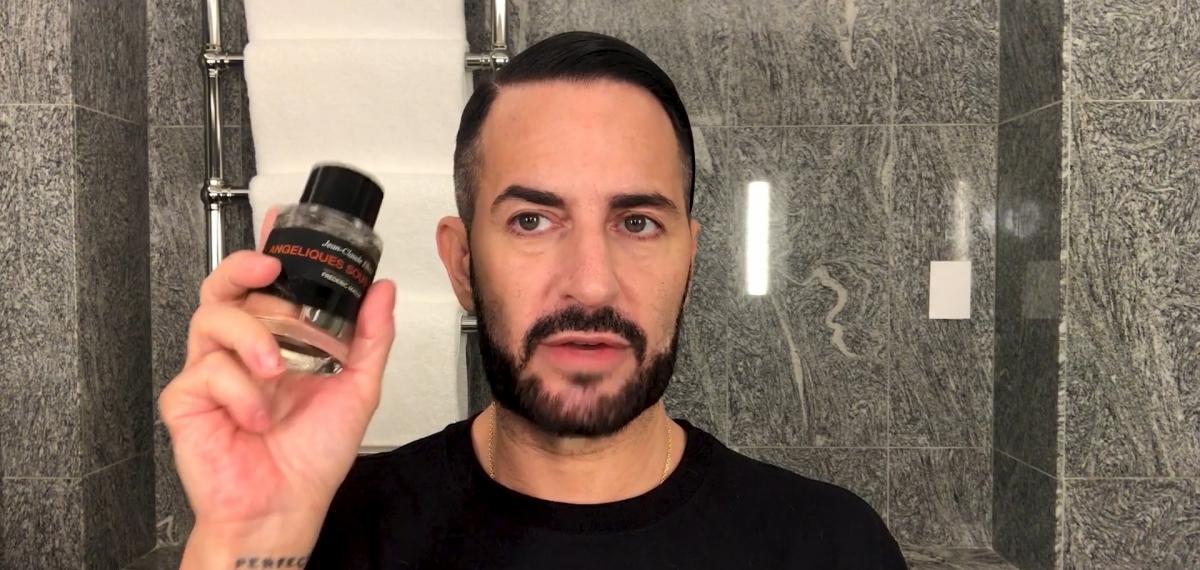 Алая помада и кокосовый крем: Смотрите, почему Марк Джейкобс такой красивый
