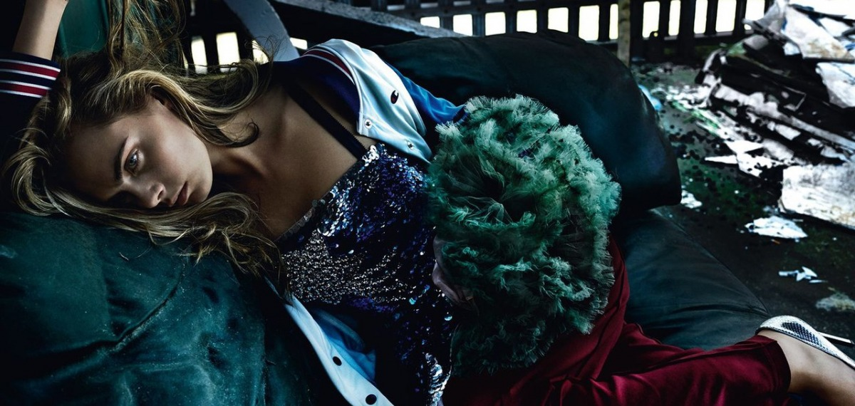 Кара Делевинь на обложке Vogue UK