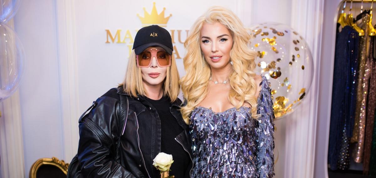 Гости и эффектные платья на открытии нового элитного бутика Marchuk Irina