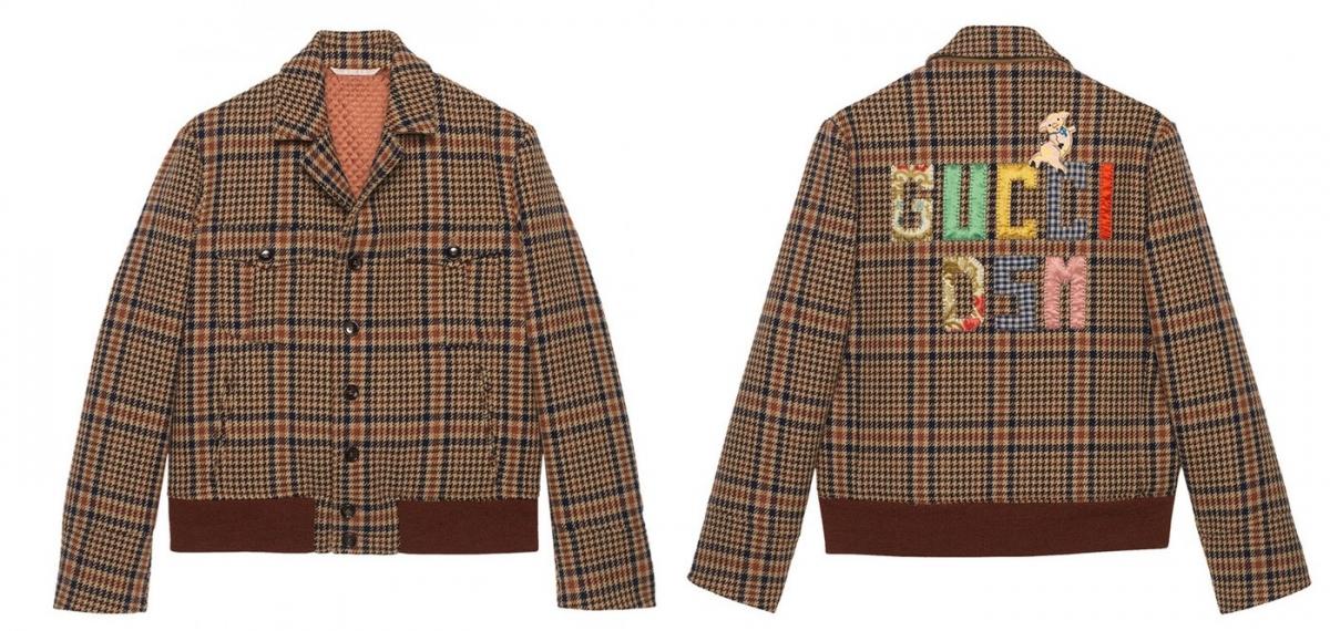 Дух Рождества, пиджак Поплавского и портрет Элтона Джона: Новая капсула Gucci