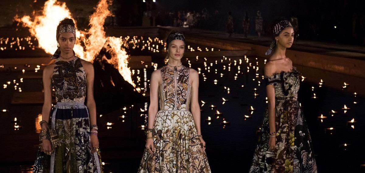 Место силы: Dior представил красивейшую колоритную коллекцию в Марокко