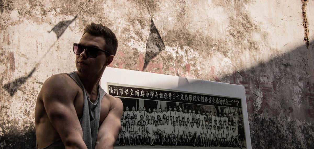 Телеведущий Роман Дрибной о жизни и работе в Китае. (фото)