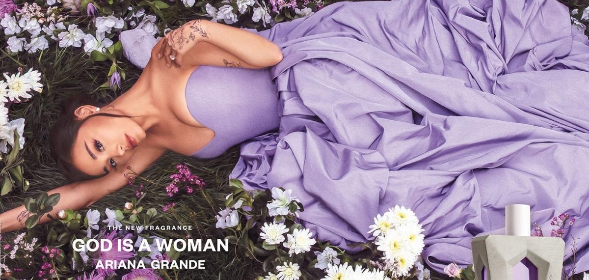 «Бог — женщина»: Ариана Гранде представила собственный аромат