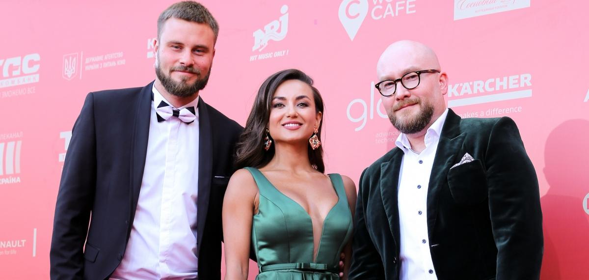 Гости на красной дорожке юбилейного Одесского международного кинофестиваля