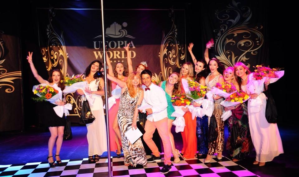 Певица Lilu провела конкурс по pole-dance на турецком побережье (фото)