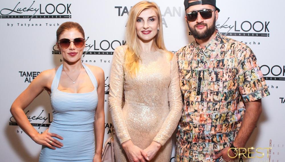 Презентация амбассадоров TamerlanAlena новой линии очков бренда LuckyLOOK by Tatyana Tucha