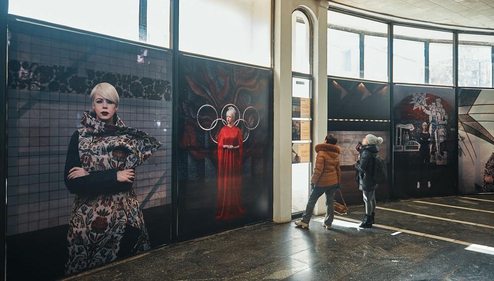 Арт из подземки: ONUKA презентовала фотопроект в поддержку альбома MOZAЇKA