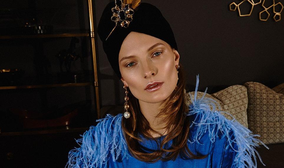 Таня Рубан в кампейне коллекции