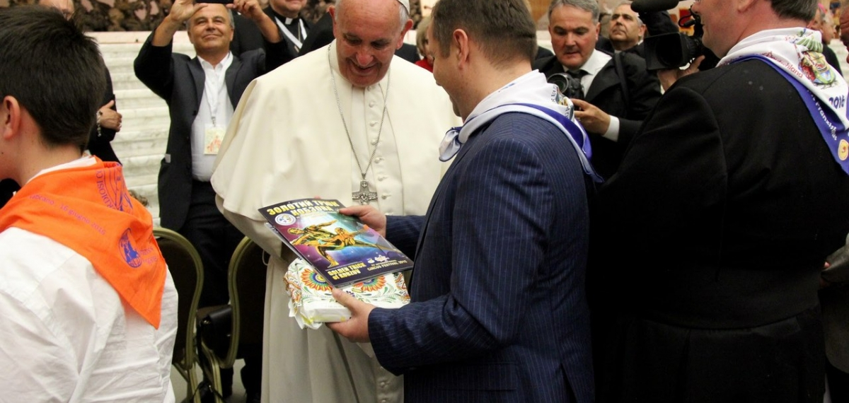 Артисты цирка «Кобзов» выступили перед Папой Римским (фото)