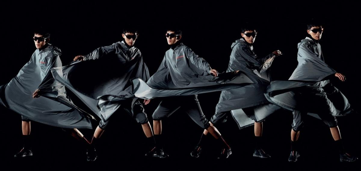 Выглядит очень круто: Prada представили ультрасовременную коллекцию собственной спортивной линии