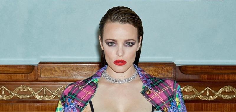 Молокоотсос и Versace: Рэйчел Макадамс в вызывающей фотосессии