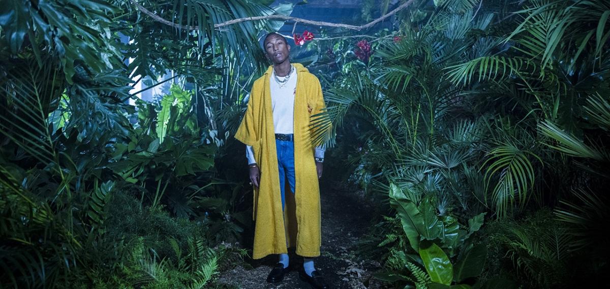 Официальный кампейн «Chanel Pharrell» - одной из самых необычных коллабораций Chanel и Фаррела Уильямса