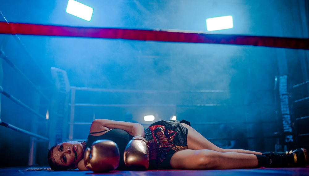 TamerlanAlena в новом видео на боевом ринге