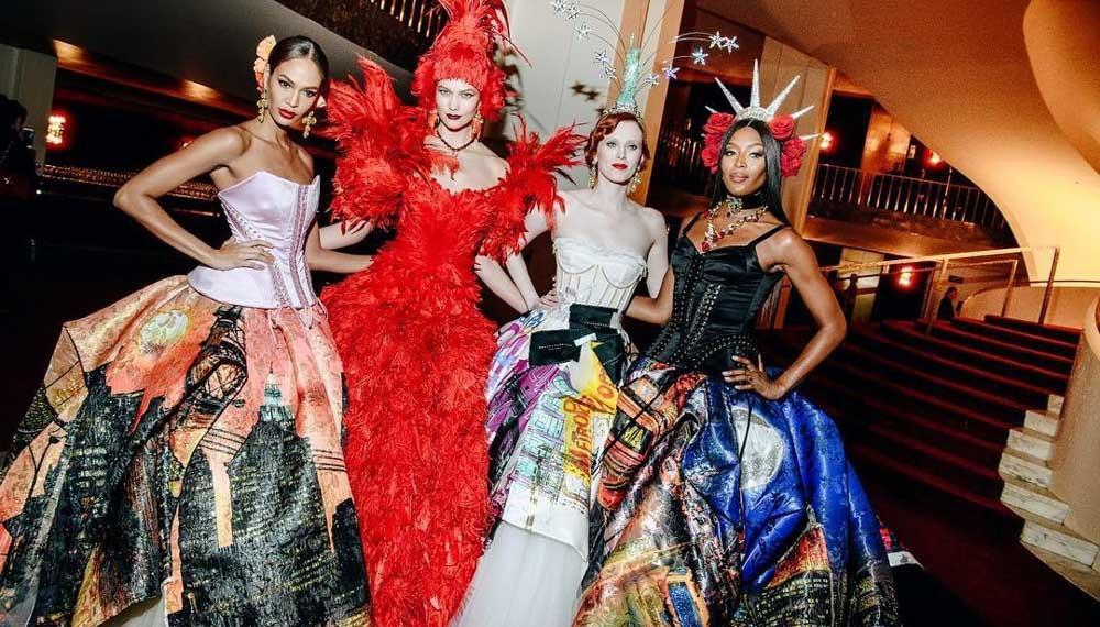 Американская любовь итальянских модельеров: показ Dolce & Gabbana Alta Moda 2018