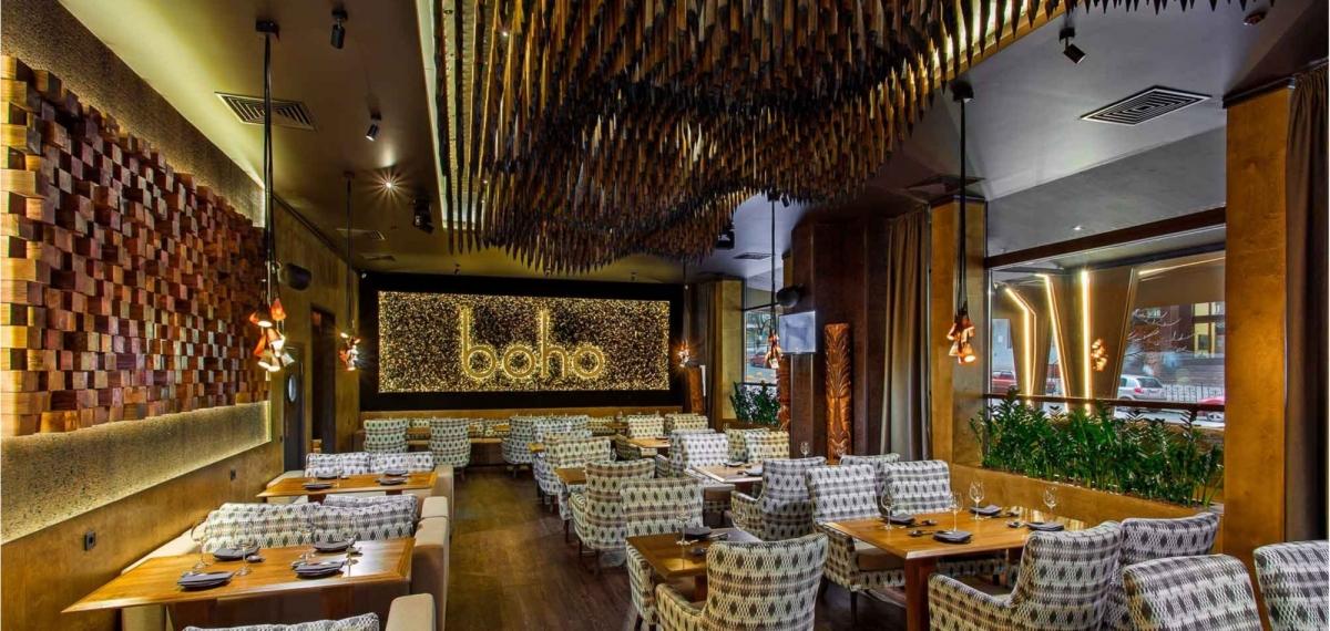 Вкус Азии: Презентация авторского меню ресторана Boho