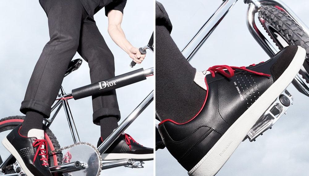 Dior Homme презентовали велосипед и лимитированную пару обуви