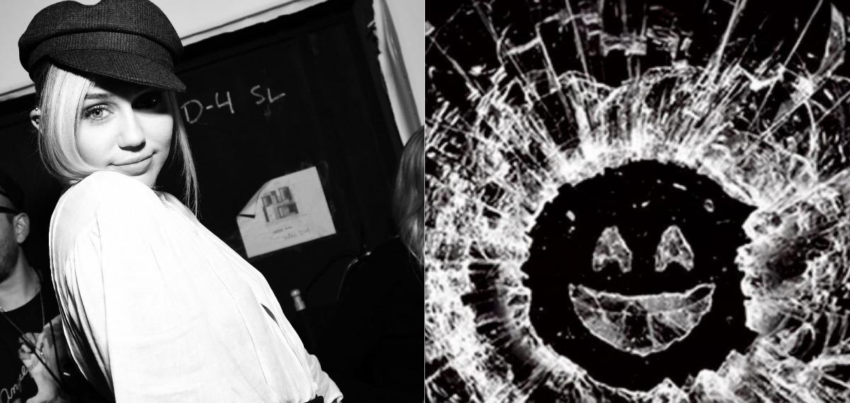 Майли Сайрус подтверждает появление в новом сезоне «Черного зеркала»