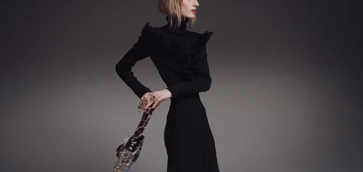 Джулия Нобис в новой кампании Dior