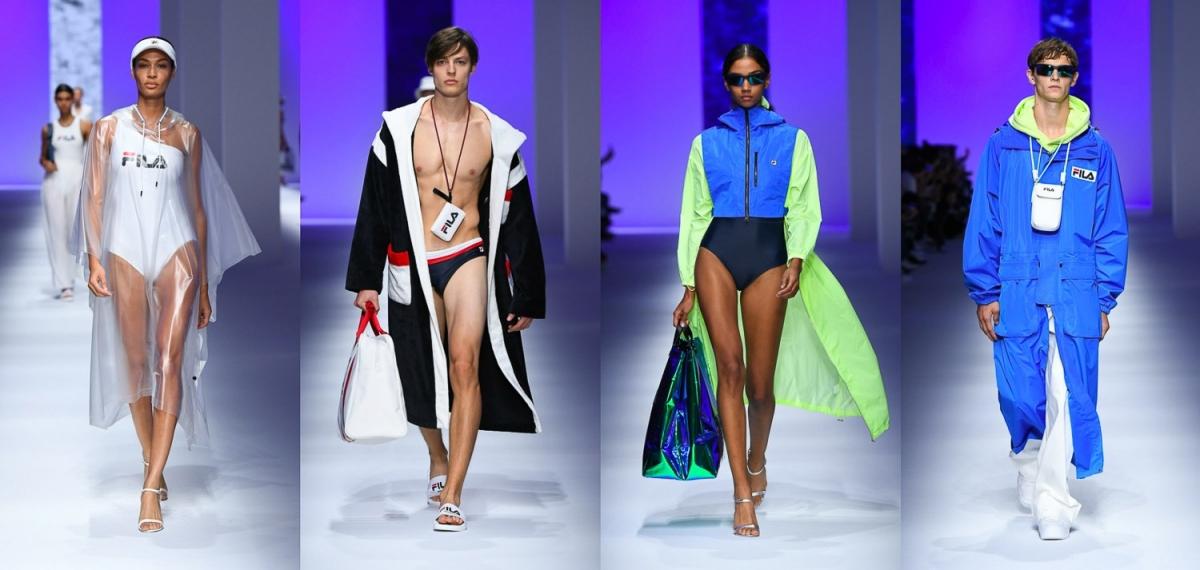 Дебют FILA на Неделе моды в Милане