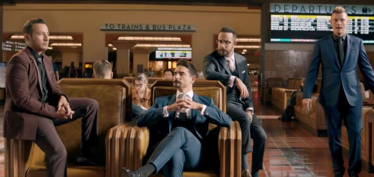 Старикам тут не место или Backstreet Boys представили новый клип