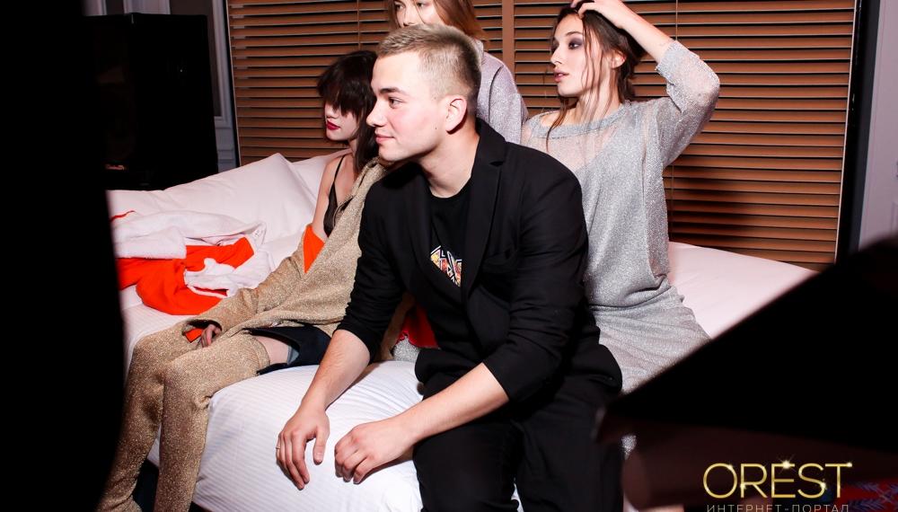 FROLOV собрал светских друзей на вечерний BREAKFAST в Vogue cafe Kiev