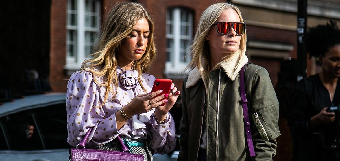 Эклектика и смелость уличной моды Лондона на LFW