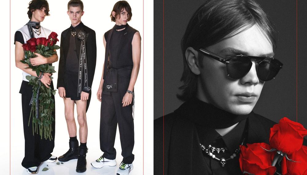 Dior Homme представили кампейн вдохновленный украинским брендом FROLOV