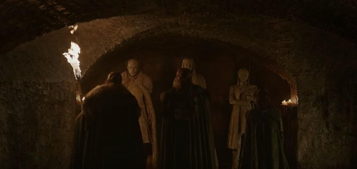 Надгробья Старков в тизере финального сезона «Игры престолов»