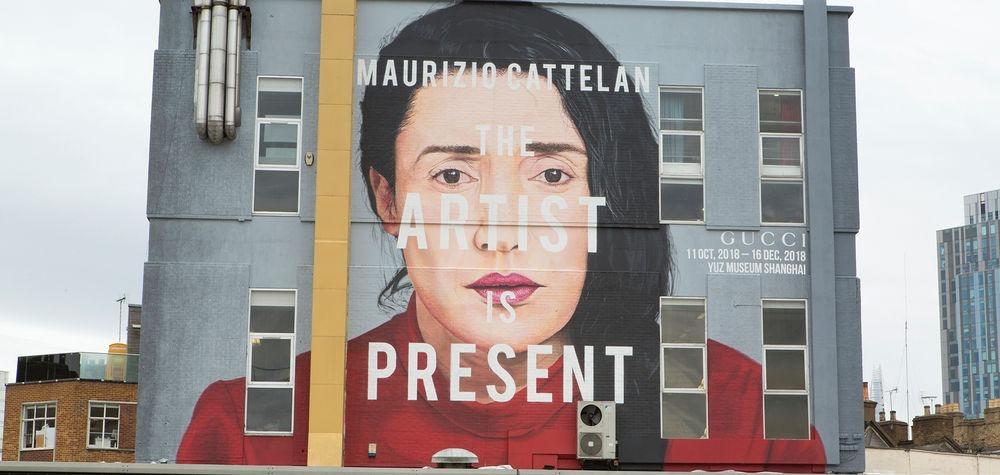 Присутствие художника: Марина Абрамович стала музой для Gucci