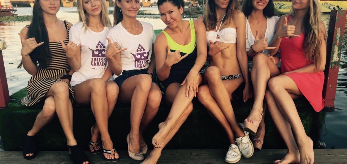 Претендентки на титул Мисс Украина стали неотъемлемой частью экстремальных девичников «Aysina FreeGen Angels Camp»