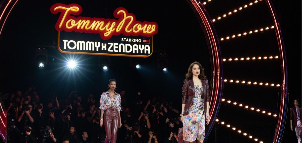 Zendaya, бодипозитив и 70-е на бесшабашном показе Tommy Hilfiger