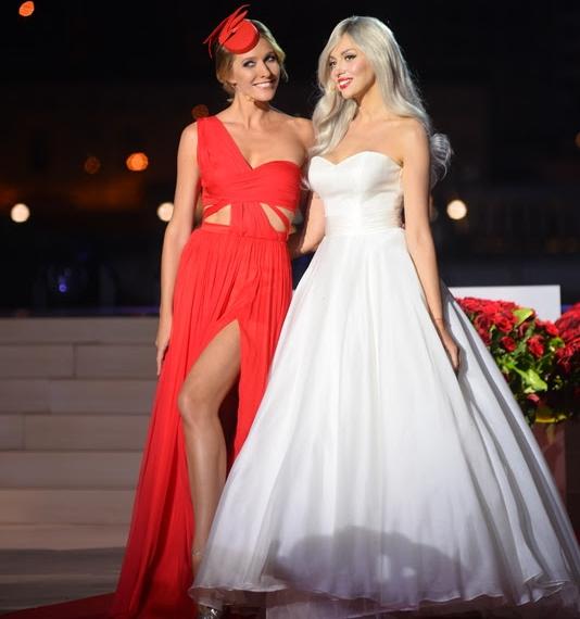 Оля Полякова удивила оперным голосом на юбилее «Світського життя»