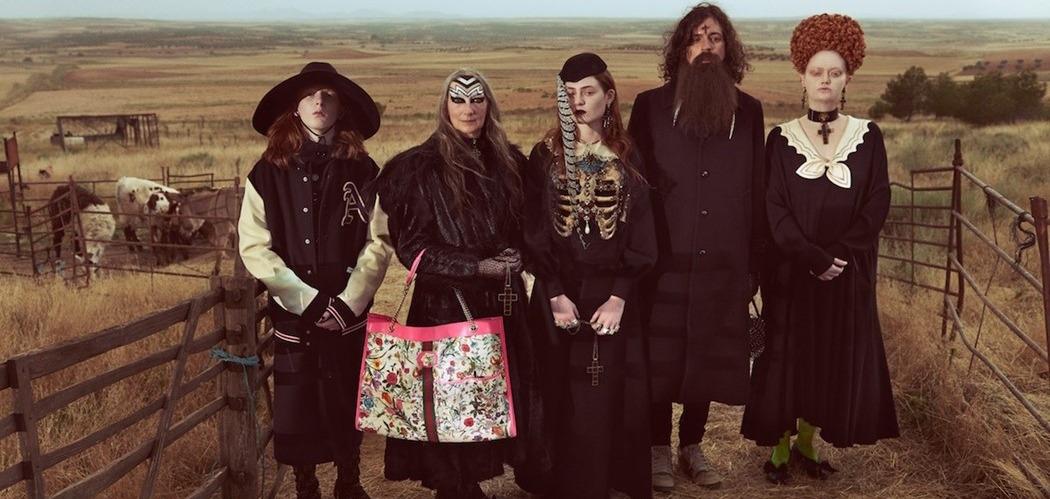 Модный Ковчег: Gucci воссоздали библейскую историю в новом кампейне