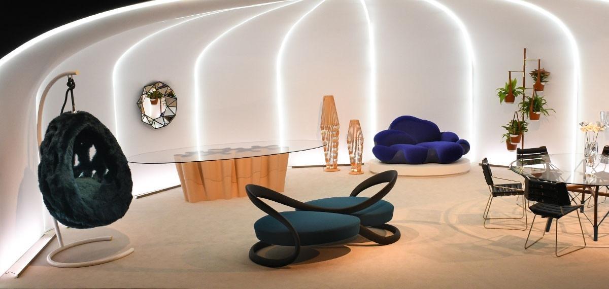 Мода в каждой детали: Взгляните на дизайнерскую мебель от Louis Vuitton